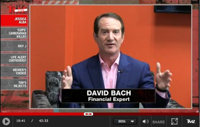 DAVID BACH ON TMZ